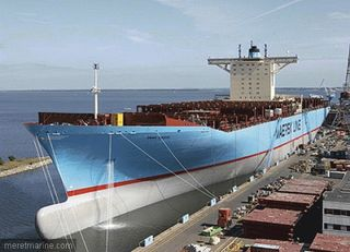 Porte containers Maersk