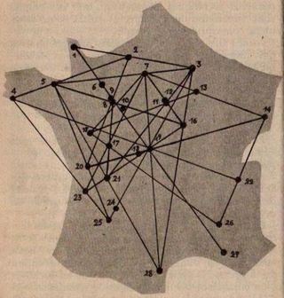 Observations d'OVNI 1954 2
