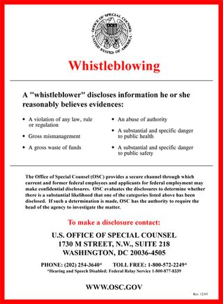 Whistleblowing 2