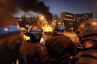 émeutes banlieues