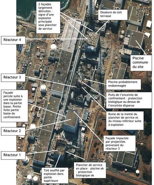 IRSN Fukushima 24 mars