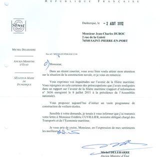 Lettre Delebarre 2012 08 15 .0001