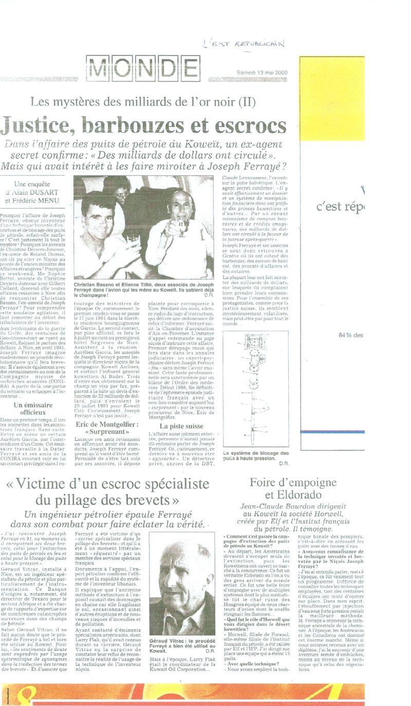 Basano Est républicain 2000 .0001