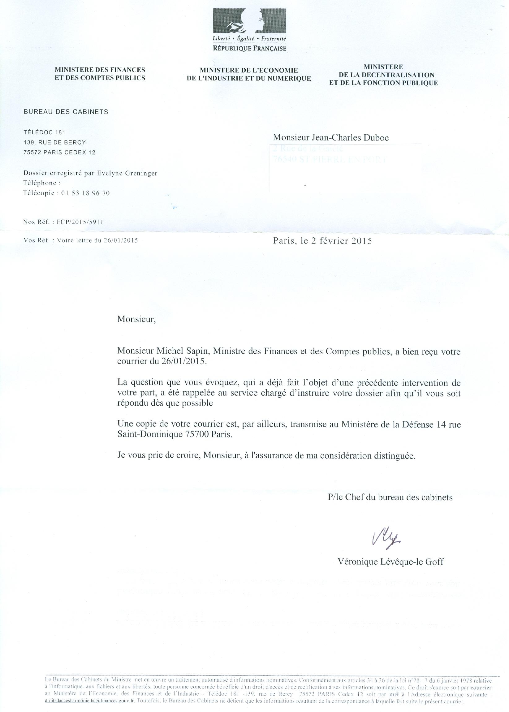 Alerte Ethique Guerre Du Golfe 1991 Lettre A Michel Sapin Iii